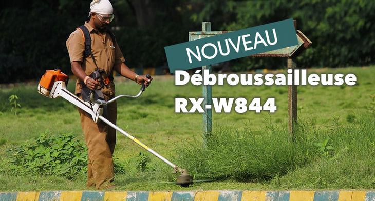 Nouvelle débrousailleuse RX-W844